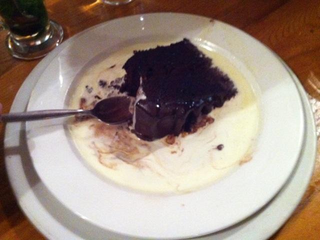 Chocoloate fudge cake