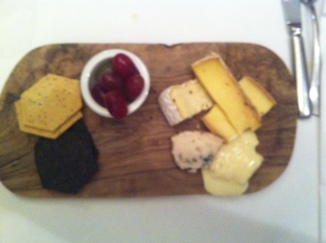 Cheese including Roquefort and Vacherin, bidding to make an escape
