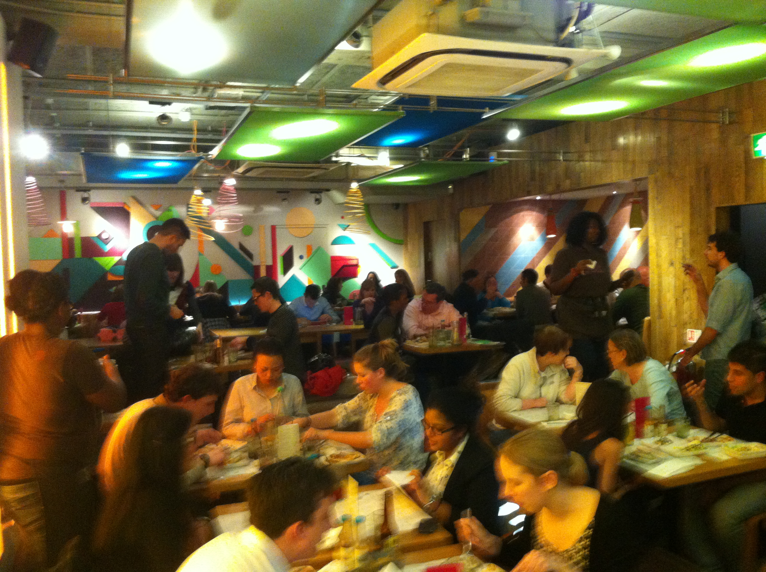 busy restaurant interior. Contemporary Interior I Told You It Was Busy Downstairs For Busy Restaurant Interior T