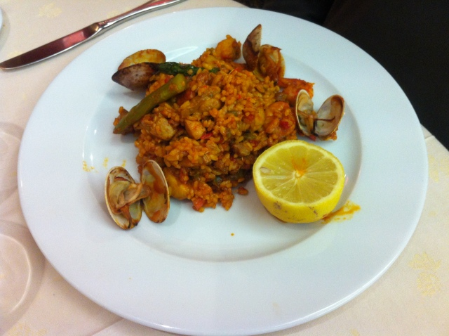 Paella. Like risotto but Spanish.