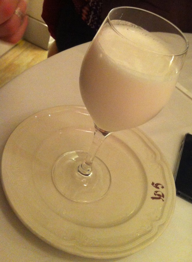 Lemon sorbet blended with Cava. Don't be a fool. Just go there and order it.