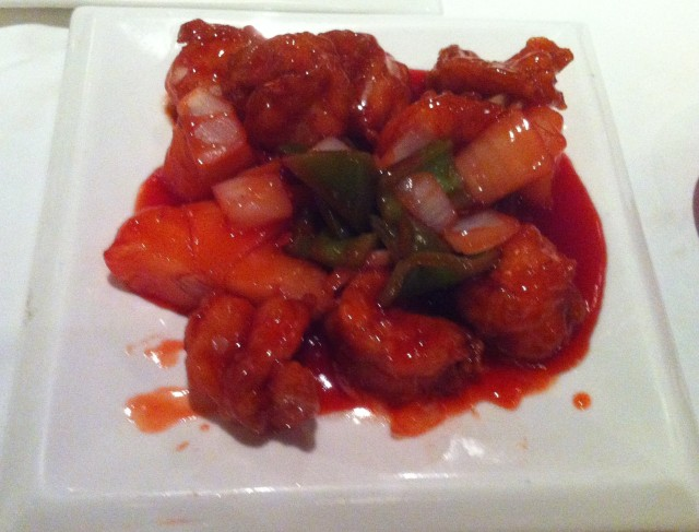 Sweet n Sour Prawns. Or: Where did I put the contents of that cadavers stomach?