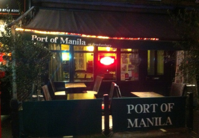 Port of Manila - making 0.4% of Brackenbury Village look exotic since 2009.