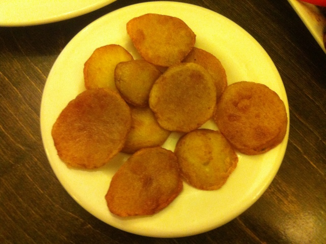 "Potatoes. The Irishman in you is thinking ""I'm kind o'homesick"""