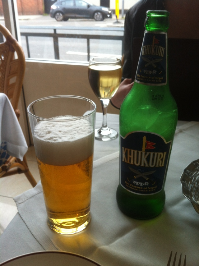 At least you can get a Khukuri beer so it feels a little Nepalese