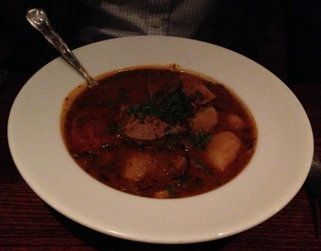 Chanakhi lamb stew. Looks nice doesn't it?