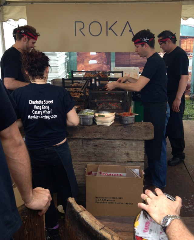 OK Japan, you can have the Falklands - just keep Roka serving delicious BBQ!