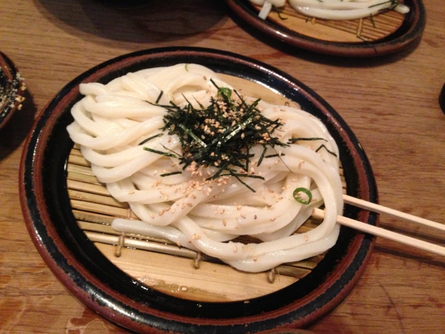 These udon are beautifully presented and perfectly prepared. I just want more of them.