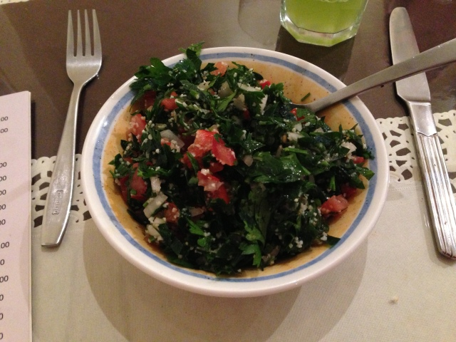 Tabbouleh. There is nothing more to add.