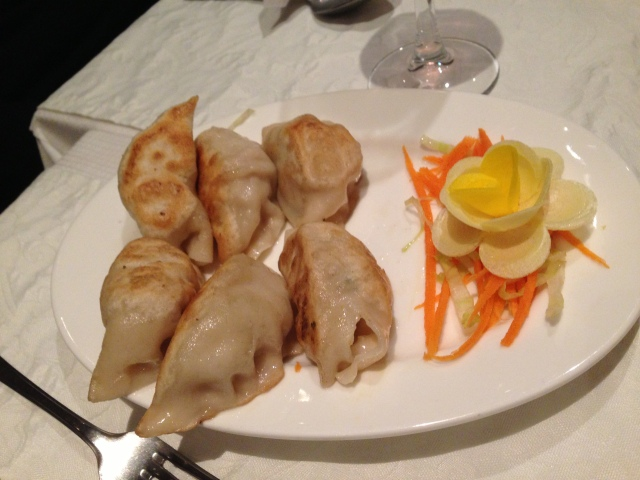 There's nothing more satisfying than a long-awaited dumpling.