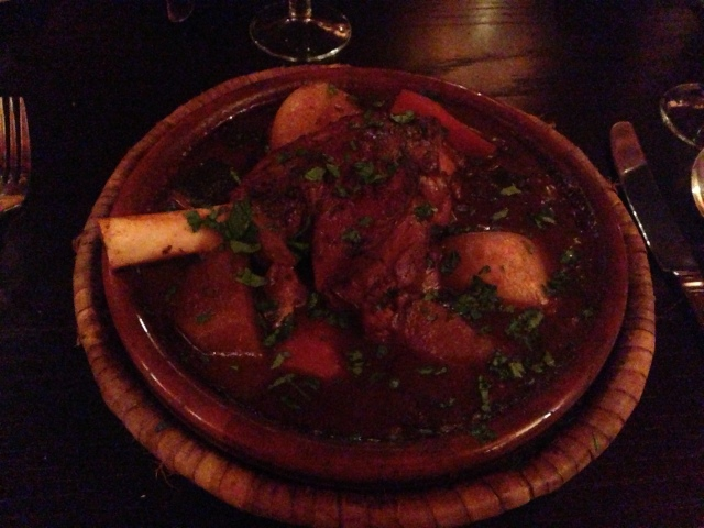 Tagine Marrakech. Yummy.