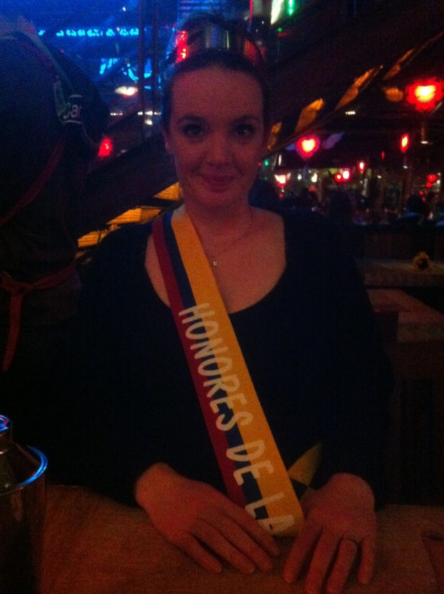 Not enough restaurants award sashes or rosettes for finishing a meal. Especially bad restaurants.