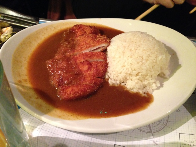 Katsu Curry. Proper winter comfort food.