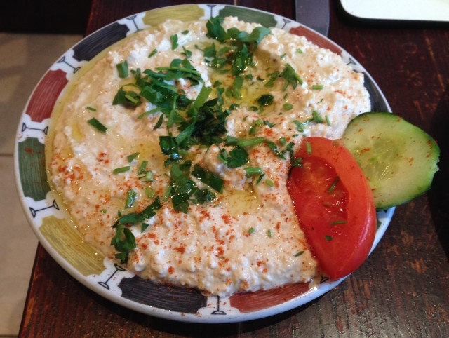 Houmous. Good stuff.