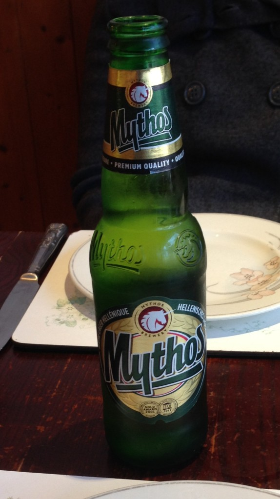 Mythos beer is real.