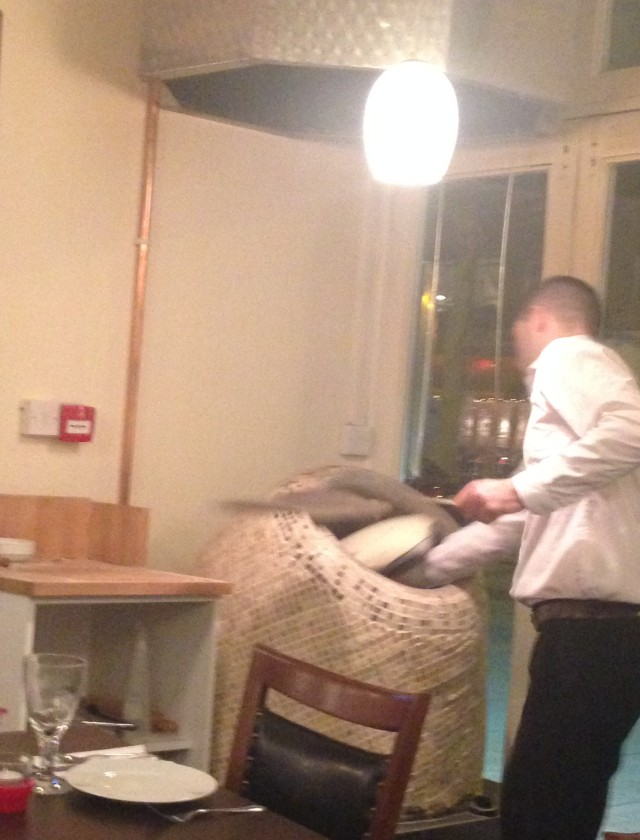 Making bread with a cushion?