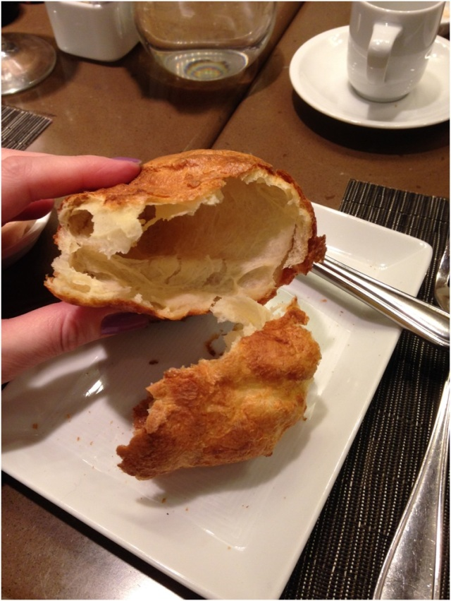 Further evidence that popovers are, in fact, Yorkshire puddings.