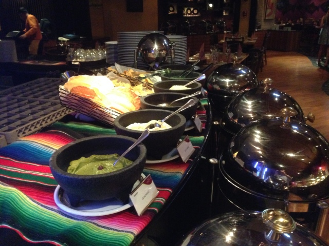 The Mexican station - why waste precious tummy space with heavy Mehican food whilst at a buffet?