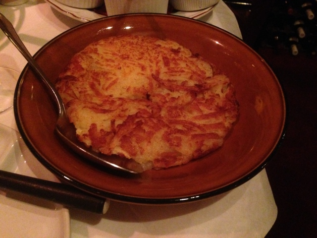 Rosti. Doesn't get more Swiss than that.