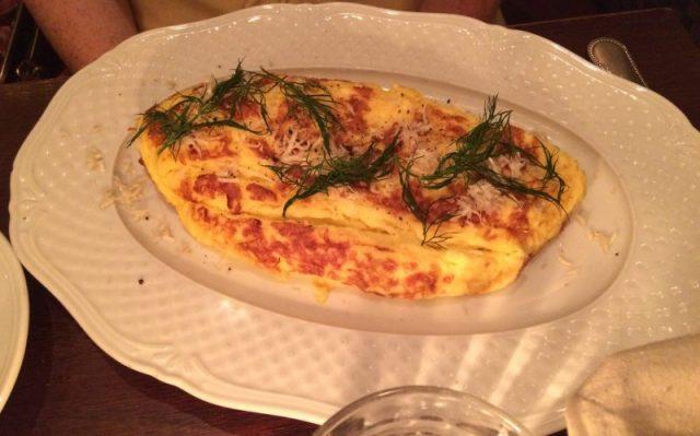 An omelette.
